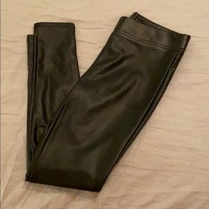 Loft Faux Leather Leggings BNWT